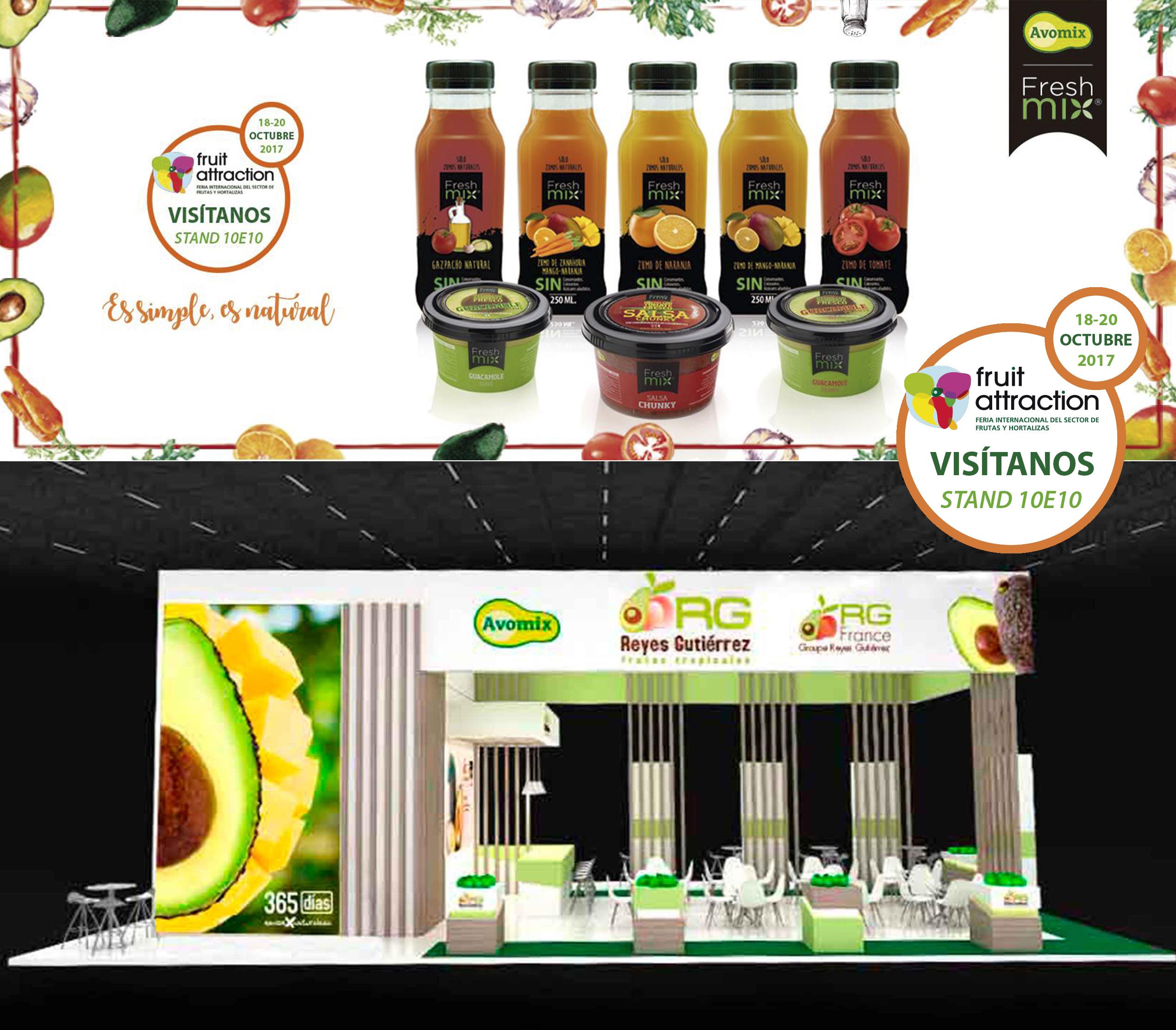 Avomix vuelve un año más a Fruit Attraction